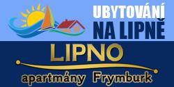 Lipno apartmány Frymburk